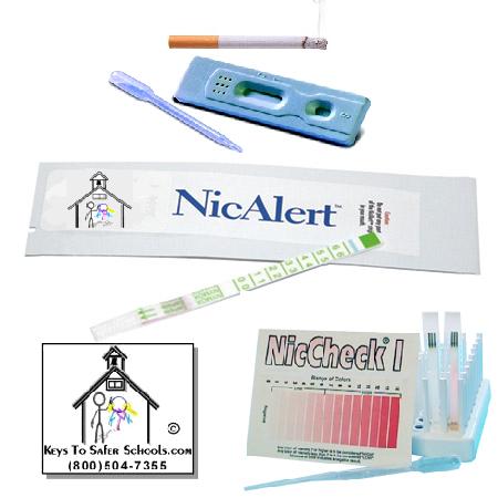 Tobacco/Nicotine Cassette Drug Tester