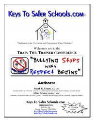 Bullying Stops when Respect Begins: Trainer, pg1